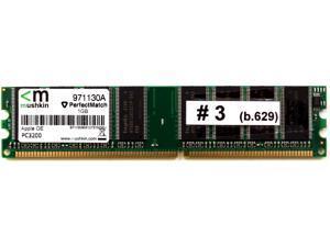 MEMORY 184P MUSHKIN 1GB PC3200 APPLE OE