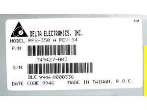 MATE W// PS RPS-350 E//H//J Details about  /DELTA 350W DPS-350AB D REV.01 6500364 GATEWAY P//N