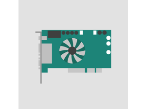 ATI 109-57400-00 GRAPHICS RAGE 128 PCI VIDEO CARD, VER.2.0, P/N:1025740800, 630-2900