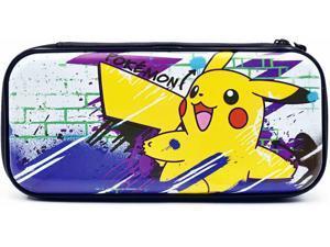 Hori Nintendo Switch & Switch Lite Premium Vault Case Officially Licensed by Nintendo & Pokemon - Pikachu Edition