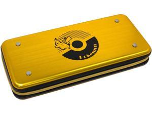 HORI Pikachu Alumi Gold Case Officially Licensed By Nintendo & Pokemon for Nintendo Switch