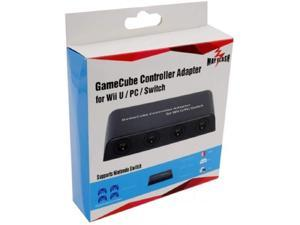 Mayflash W012 Wii & Wii U GC Controller Adapter for Wii & Wii U - 4 Port