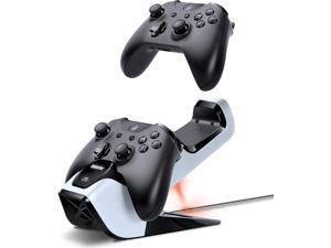 Bionik Power Stand Controllers Charger Dock with 2 Rechargeable Batteries for Xbox One