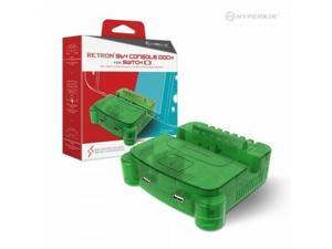 Hyperkin RetroN S64 Console Dock for Switch (Lime Green) Nintendo Switch