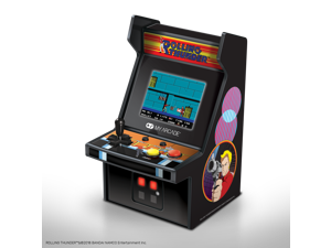 My Arcade Rolling Thunder Micro Player Licensed Collectible 6.75 Inch Mini Retro Arcade Machine Cabinet