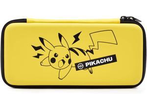Hori Official Pokemon Pikachu Emboss Case Pouch for Nintendo Switch