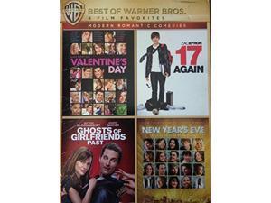 4 Film Favorites Romantic Comedies (17 Again, New Year's Eve, Valentine's)