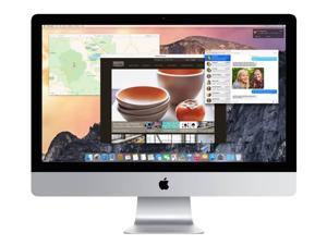 Apple A Grade Desktop Computer iMac 27-inch (Retina 5K) 4.0GHZ Quad Core i7 (Late 2014) MF886LL/A-BTO 24 GB 1 TB HDD 5120 x 2880 Display Sierra 10.12 Includes Keyboard and Mouse
