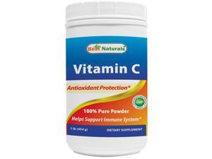 Best Naturals 100% Pure Vitamin C Powder 1 lb (454 grams) Powder (Also Called Ascorbic Acid)
