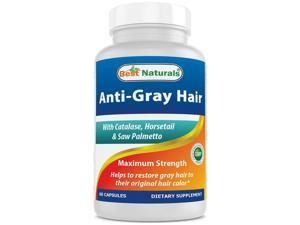 Best Naturals Anti Gray Hair formula 60 Capsules