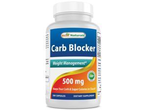 Best Naturals Carb Blocker Weight Management 180 Capsules