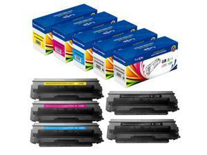 PrintOxe® 055H | Without Chips |Compatible Set + Black  5 High Yield Toner Cartridges for Canon Color ImageCLASS MF740C MF741Cdw MF743 MF743Cdw MF745Cdw MF746Cdw and LBP660C LBP661C LBP662C LBP664C