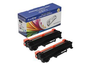 PrintOxe® TN760 Compatible 2 Toner Cartridges (With Chips) TN 760 HY TN730 for Brother HL L2350DW L2370DW L2370DWXL L2390DW L2395DW & MFC L2710DW L2730DW L2750DWXL & DCP L2550DW