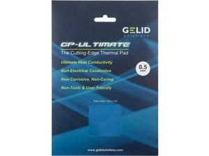 Gelid Solutions Ultimate GP-Ultimate-Thermal Pad 120x120x0.5mm. Excellent Heat Conduction, Ideal Gap Filler. Easy Installation Thermal Conductivity 15W - 1 Pack