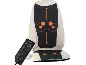 Shiatsu Chair Massager with Heat - Shiatsu Massage Seat Cushion with Heat | Kneading Massage & Seat Vibration for a Relaxing Back Massage