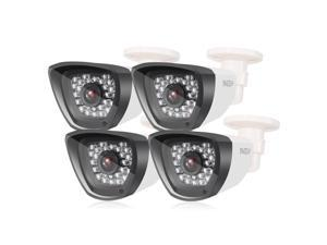 TMEZON 4x HD CCTV Security Camera 1080P 960H Home Security Day/Night Waterproof Outdoor Camera 900TVL 30 IR-LEDs 3.6mm Wide Angle Lens with OSD Cable