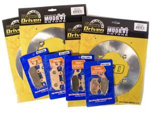 2015-2017 Can-Am Commander Max DPS 1000 Front and Rear Severe Duty Brake Pads