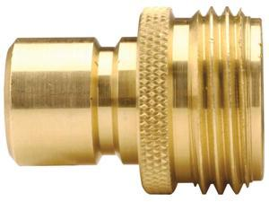 """Dixon 500QCMSS 3/4"""" GH Quick Connect Male Plug 303SS (Male Plug x Male GHT)"""