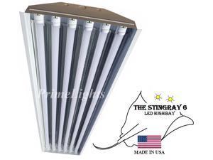 *LED* 6 Lamp T8 STINGRAY 6XL Highbay Fixture 132 Watts