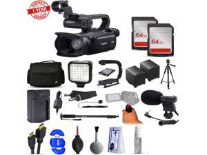 Canon XA25 HD Professional Camcorder with 128GB Filmmaker's Broadcasting Bundle