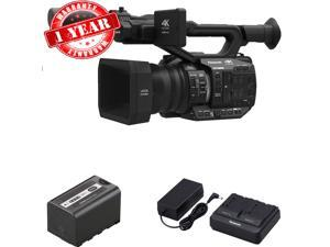 Panasonic AG-UX90 4K/HD Professional Camcorder USA Battery   Charger   Warranty