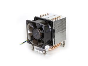 Dynatron A19 AMD Socket AM4 Aluminum Stacked Fin with Heat Pipes Heatsink and Fan for 3U, Workstation