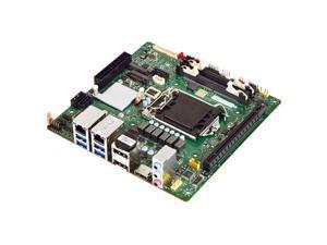 Mitac PH13FEI-Q370 Coffee Lake Q370 Mini ITX Motherboard, Dual Intel GbE LAN, Intel vPro, Triple Display