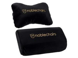 noblechairs Pillow Set for EPIC/ICON/HERO Black/Gold