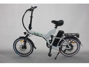 Greenbike USA GB5 500 Electric Motor Power Bicycle Lithium Battery Folding Bike - FULL SUSPENSION