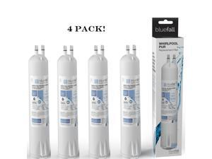 Refrigerator Water Filter Replacement Cartridge Compatible for Whirlpool 4396841 4396710 Filter 3 (4pk) by Bluefall
