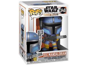 Star Wars The Mandalorian Funko POP Vinyl Figure | Heavy Infantry Mandalorian