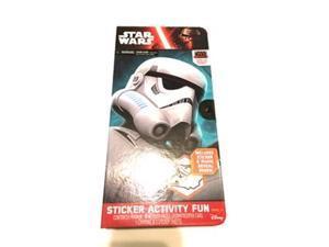 Star Wars Storm Trooper Sticker Activity Fun Portfolio Play Set