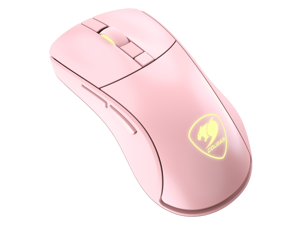 Cougar Surpassion RX Pink Wireless Optical Gaming Mouse with PixArt PMW3330 Professional Gaming Sensor