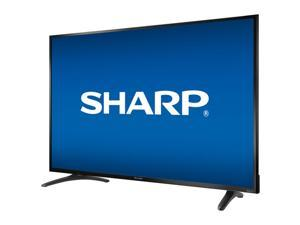"""Sharp 50"""" 4K UHD LED Roku Smart TV (LC-50LBU711C)  Enhance your home entertainment with this Sharp 50"""" 4K UHD Roku Smart TV. Boasting a 4K Ultra HD resolution that delivers incredibly clear and true-t"""