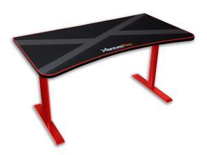 XTREMPRO 11161 GAMING DESK(BLACK+RED)
