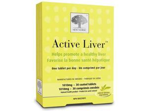 NEW NORDIC Active Liver (Daily Detox)  (30 Tablets)