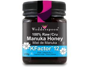 WEDDERSPOON 100% Raw Manuka Honey (Kfactor 12 - 250 Gr)