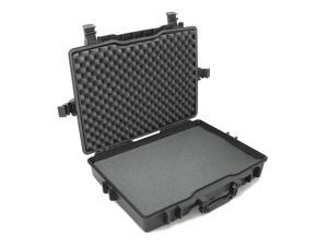 """CASEMATIX USB Portable Monitor Case Fits 15.6"""", 16"""" and 17"""" LED Laptop Monitor and Accessories – Fits Asus, AOC, GeChic Monitor Screens, Keyboard, HDMI Cables, Keypads, Mouse and More"""