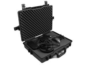 """CASEMATIX Elite Gaming Laptop Case Ultimate Protection for Traveling with 15.6"""" - 17.2"""" Gaming Computers and Accessories for Alienware, Asus, Razer, Lenovo, MSI, Acer, Keyboards, Mice"""