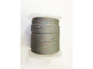 "KUFA SPORTS 400-feet Lead Core Rope, prawn/shrimp pot lead line 400' x 1/4"" (LQ4)"