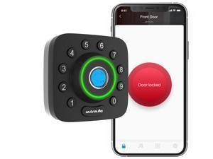 Ultraloq U-Bolt Pro Bluetooth Enabled Fingerprint and Keypad Smart Deadbolt