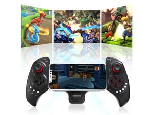 Wireless Bluetooth Game Controller Telescopic Joystick for Android Smartphone Tablet