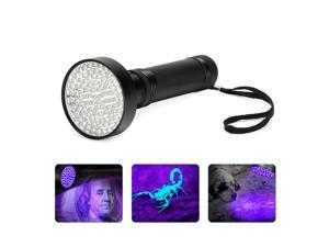 100 LED UV Ultraviolet Light Blacklight Flashlight Lamp Torch Inspection Light Outdoor Torch Light Lamp