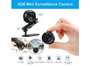 Mini 1080P HD IP DV Camera Security Camcorder Outdoor 360° Rotating Surveillance Camera