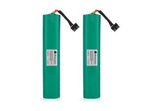 Powerextra 2 Pack 12V 4500mAh Replacement Battery for Neato Botvac Series and Botvac D Series Neato Botvac Battery 70e, 75, 80, D75, D80, Botvac D85 Neato Robot Vacuum Cleaner Batteries