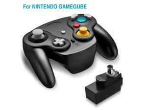 Gamecube Controller, 2.4G Wireless Controller Game Gamepad for Nintendo Gamecube NGC Wii Video Game Console with Receiver