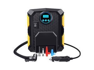 Portable Car Tire Inflator Air Pump Compressor Electric Auto DC 12V Volt 150 PSI Digital Tire Pump