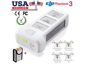 Powerextra 15.2V 4480mAh LiPo Intelligent Flight Battery Replacement Battery for DJI Phantom 3 Professional, Phantom 3 Advanced