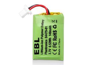 EBL 3.7v 140mAh Replacement Battery for Plantronics CS540, 86180-01, 84479-01, CS540A, CS540, C054 Wireless Headsets Battery