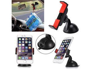 Windshield Dashboard Suction Cup Mount Bracket 360° Car Holder for iphone Samsung CellPhone Universal